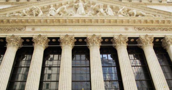 New York Stock Exchange Entrance